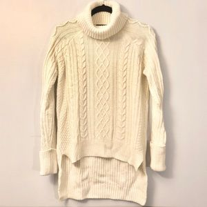Cable Knit Turtleneck Sweater by F21